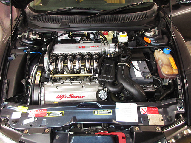 アルファ156 2.5 V6 Qシステム(フェーズ3)