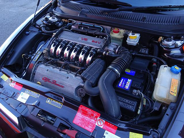 前期最終型アルファ156 2.5 V6 6速マニュアル