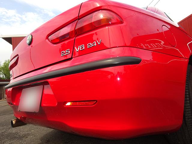 前期型最終アルファ156 2.5 V6 6速マニュアル