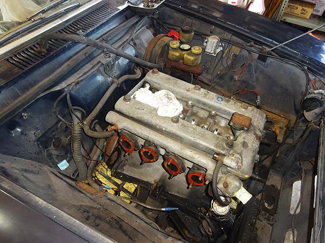 アルファロメオ 2000 GTV(正規物/LHD)レストア渡し