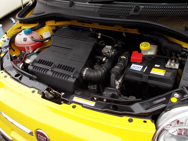フィアット500 1.4 16V ラウンジ