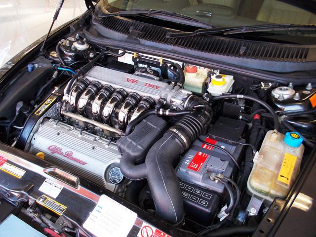 アルファロメオ156スポーツワゴン 2.5V6 Qシステム