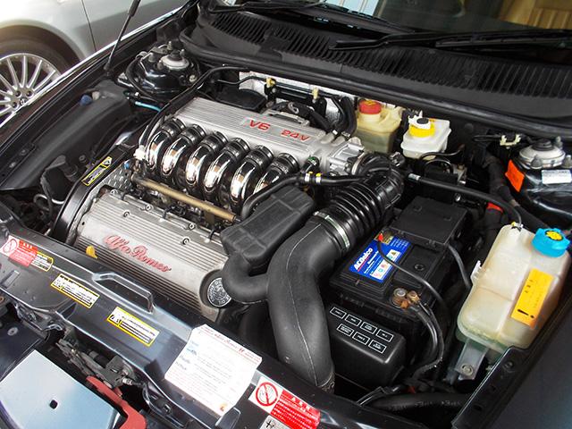 後期型アルファ156 2.5 V6 Qシステム