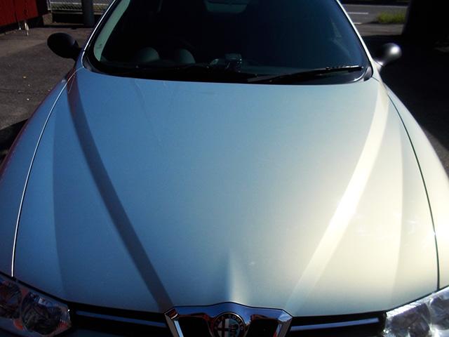 アルファ156 2.5 V6 6速マニュアル