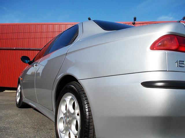 前期型アルファ156 2.5 V6 Qシステム