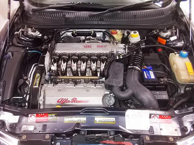 アルファ156 2.5 V6 Qシステム(後期型)