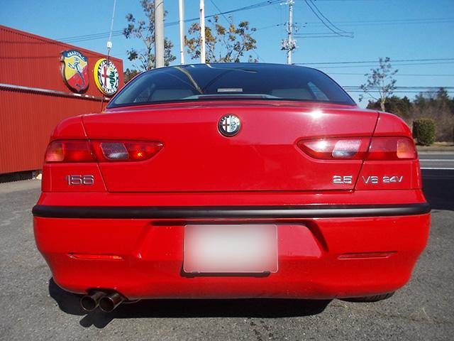 アルファ156 2.5 V6(6MT/前期最終型)